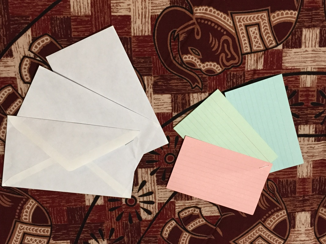 envelopes notecards financial underearners anonymous